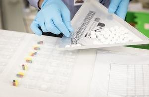 Pharmacist prescribing medication