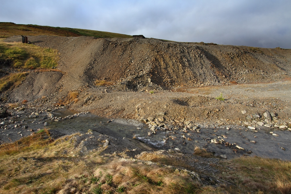 Dylife mine site