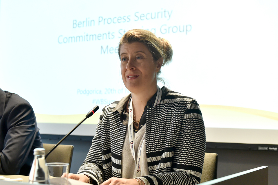 The first Berlin Process Security Commitments Steering Group meeting