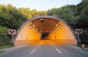 Saltash Tunnel Gets Hi Tech Safety Upgrade Gov Uk