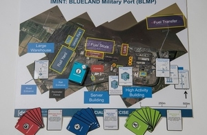 The cyber-card game developed Dstl