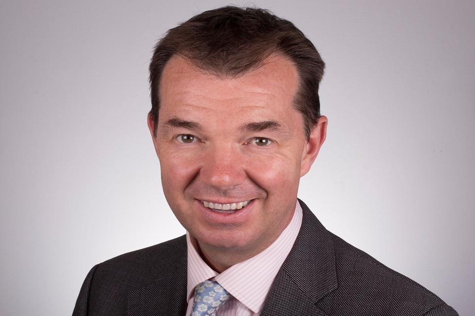 Guy Opperman MP Minister for Pensions and Financial Inclusion
