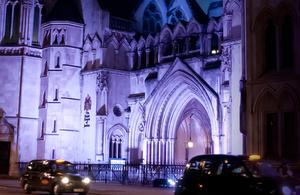 Image of RCJ at night