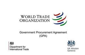 World Trade Organisation logo