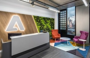 Adobe's office