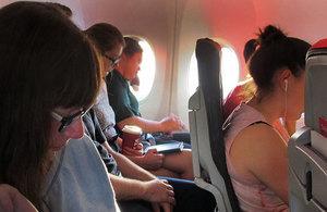 Air passengers.
