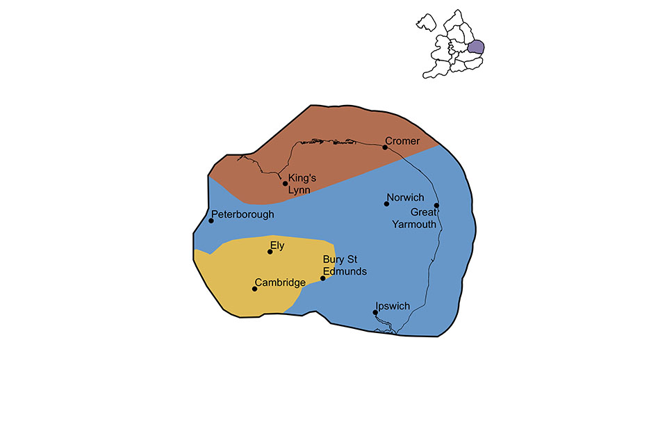 East Anglia region