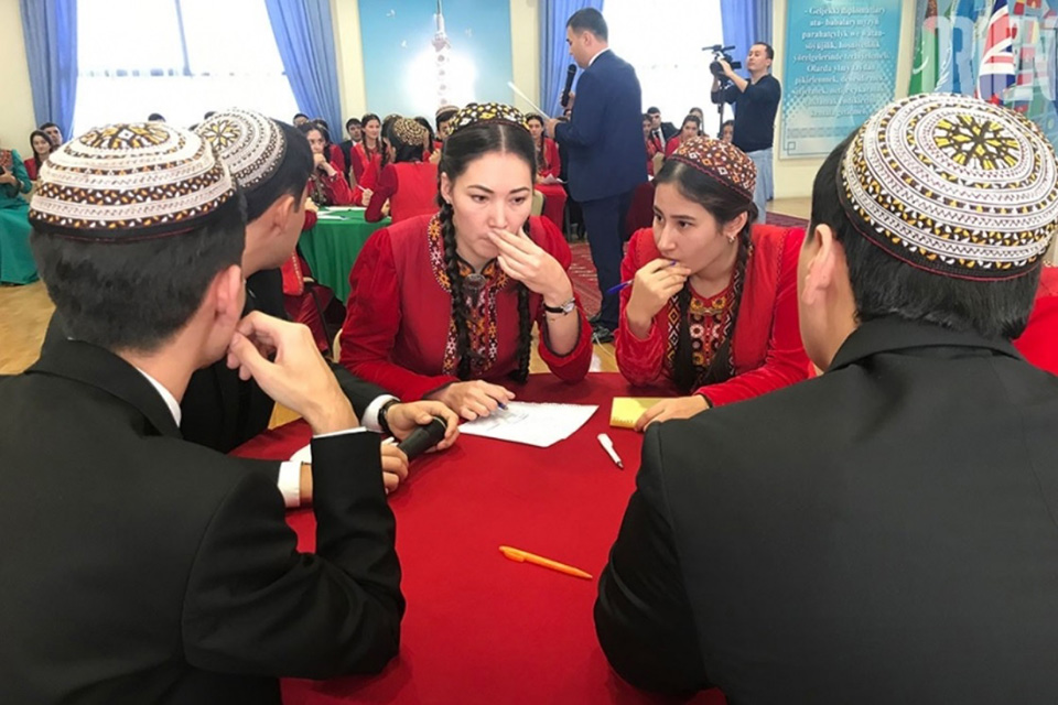 Brain Ring contest in Ashgabat