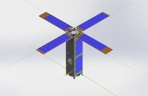 An artist's impression of the VESTA satellite