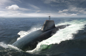 An artist's impression of Dreadnought. Credit: BAE Systems.