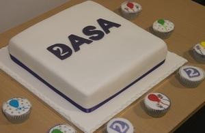 DASA cake marking second anniversary