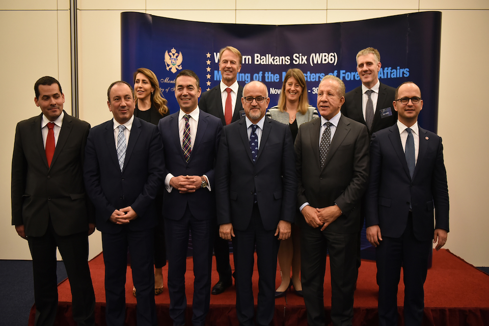 WB6 Foreign Ministers meeting