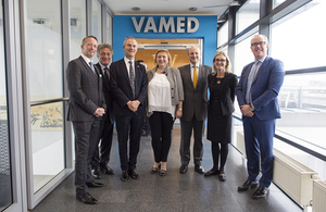 UK Export Finance (UKEF) and VAMED Engineering have signed an agreement to grow VAMED's UK export supply chain and UK operations