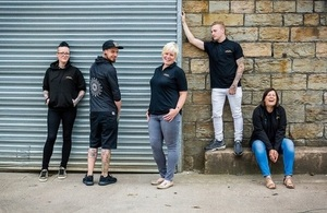The team from Batch Brew (c) Batch Brew