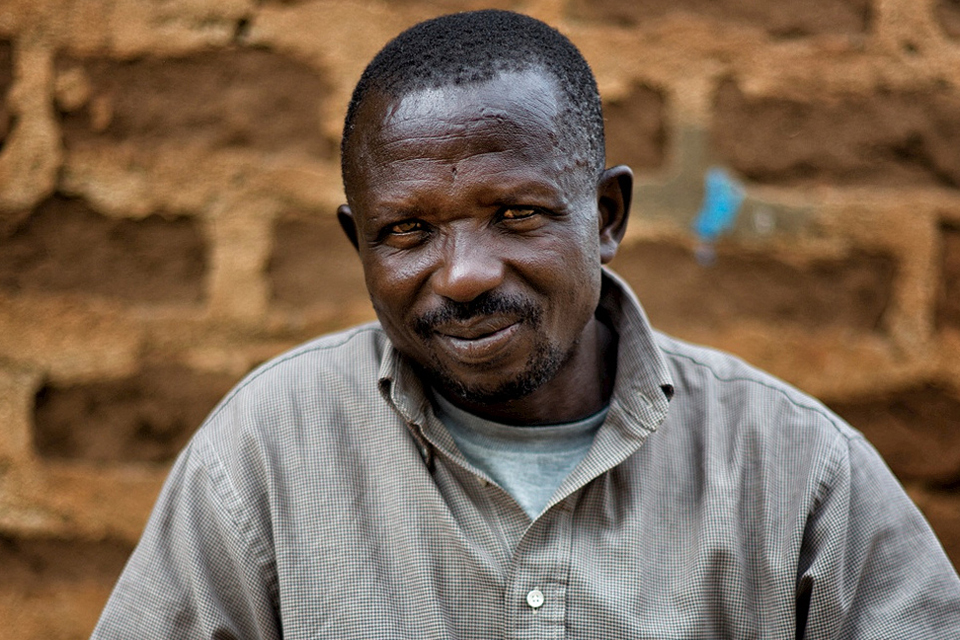 Alfred Ohuda, community leader, Kimodogne village. Photo: MAG International / Sean Sutton