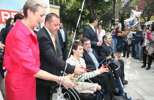 Ambassador Judith Macgregor inaugurates the street corners