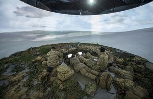Image depicting simulated training