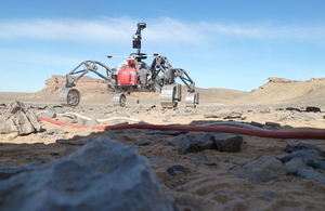 Rover being trialled in Morocco