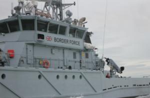 Border Force cutter