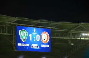 British Ambassador congratulates Uzbekistan on football win