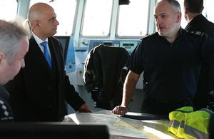 Home Secretary visits Dover