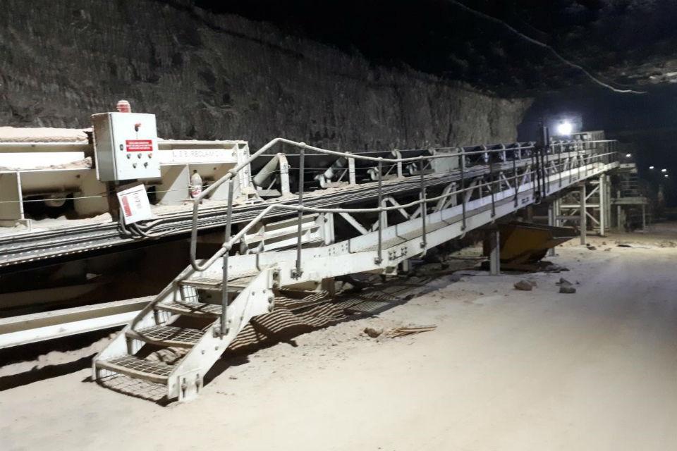 Salt depot