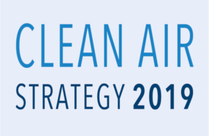 Clean Air Strategy 2019 logo