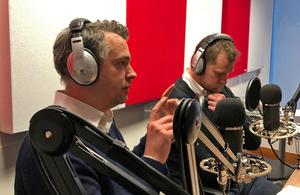 John Abbott speaks on TechTalk Radio