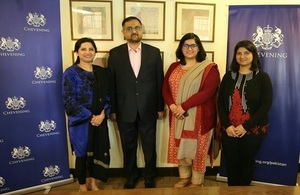 Seven Pakistani journalists awarded the Chevening South Asia Journalism Fellowship 2019