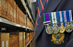 Medals and Files, Crown Copyright, All rights reserved