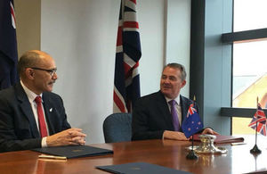 International Trade Secretary and New Zealand High Commissioner to the UK