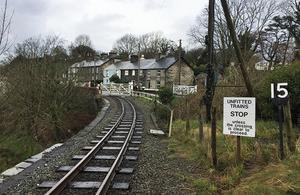 Penrhyn Crossing (courtesy of Ffestiniog & Welsh Highland Railways)