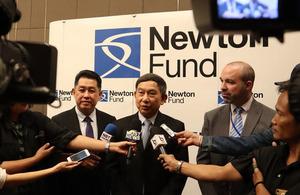 Newton Fund's Sustainable Rice Initiative