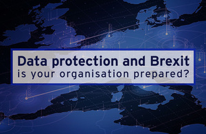 Data protection and Brexit - is your organisation prepared graphic