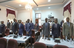 Directors, Administrators and Consultants from the Ministry of Environment and Prosecutors from the Angolan Attorney General's Office