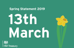 Spring Statement 2019 will take place on the 13th of March
