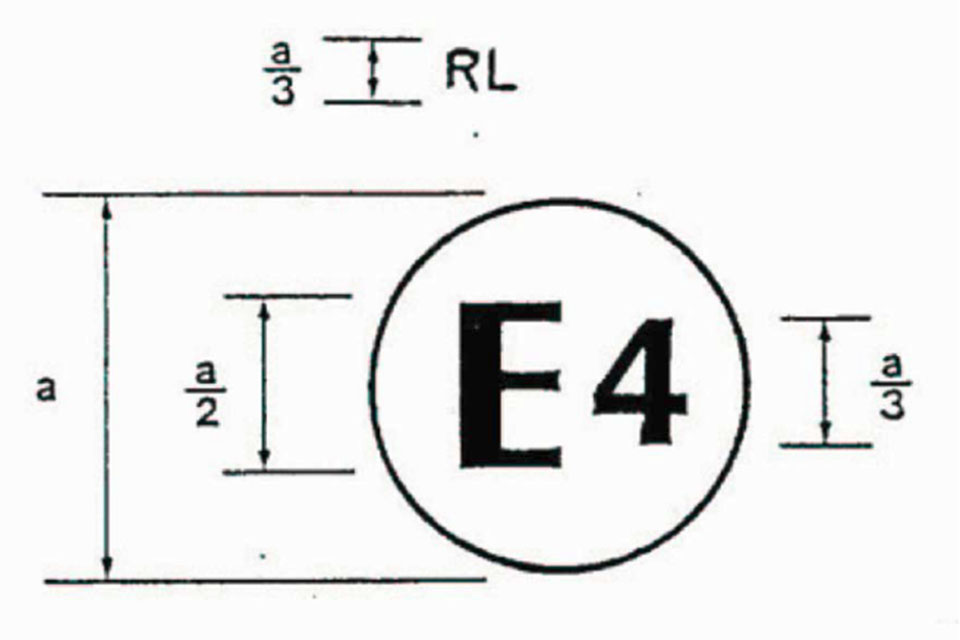 DRL approval mark