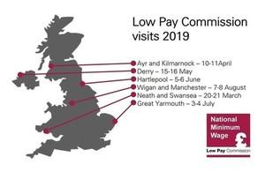 2019 visits map
