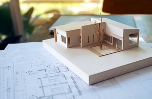 An architecture model By Farknot Architect at Shutterstock