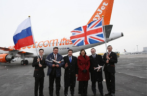 Russia touchdown for easyJet