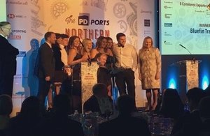 Bluefin Trading, winners of the E-Commerce Exporter of the Year Award