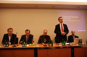 Baltic Chevening Alumni and a distinguished panel discuss Europe's Future