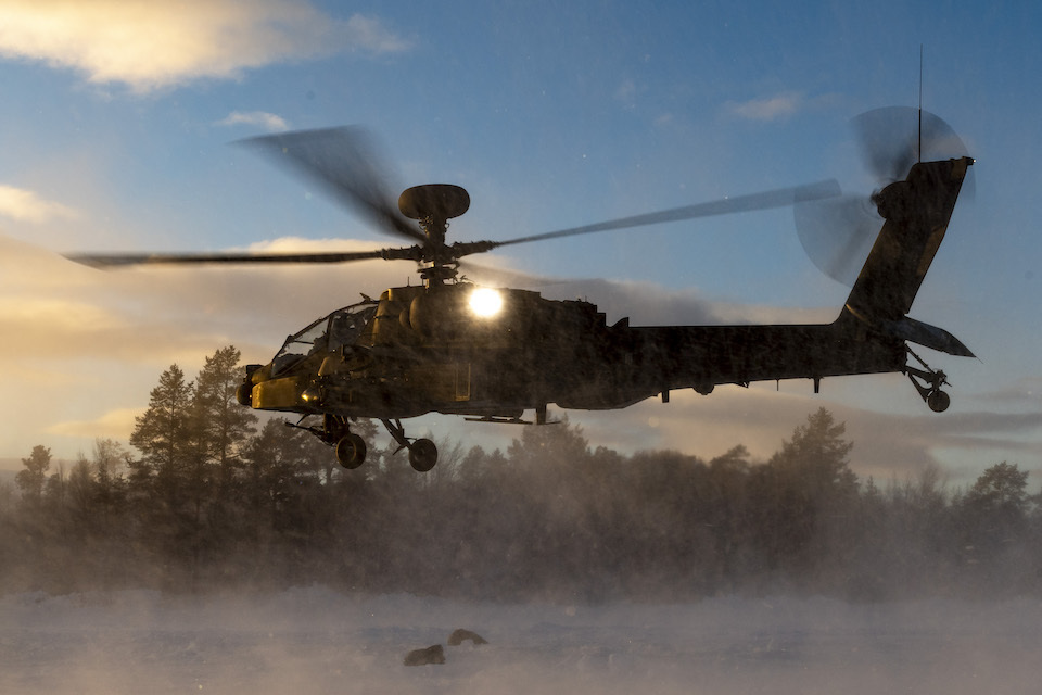 Apache and Wildcat to touch down in Estonia as UK bolsters its commitment to NATO