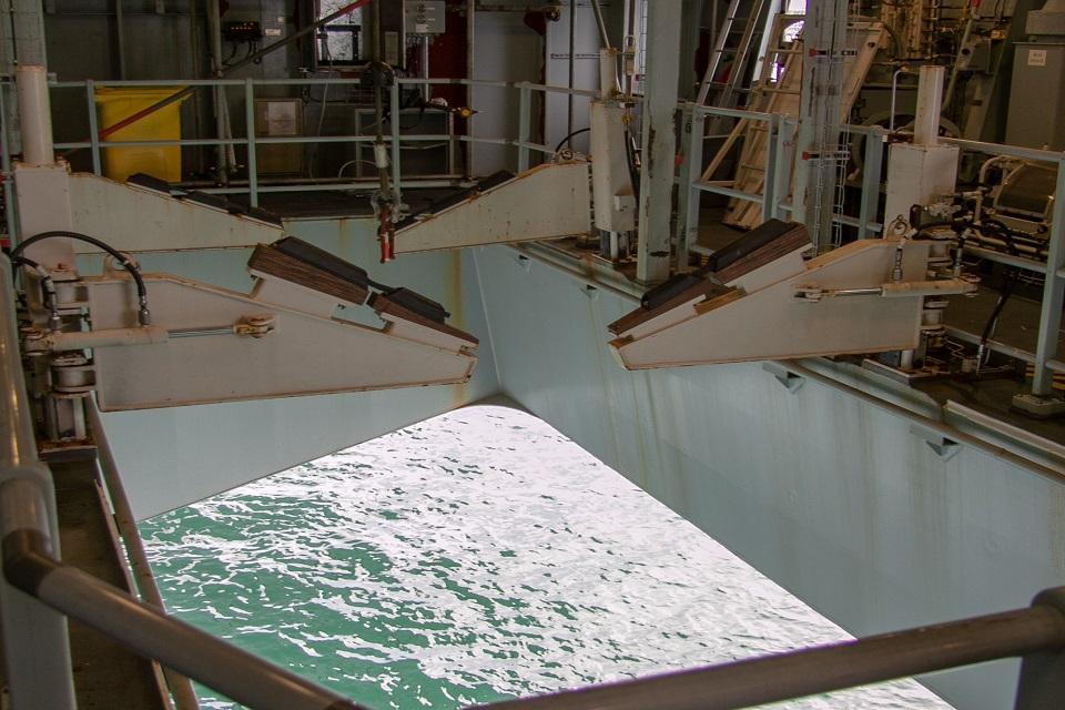 Ship boatwell