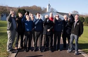Members of Basingstoke Astronomical Society visit Dstl