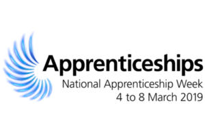The National Apprenticeship Week 2019 logo
