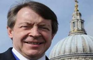 The Lord Mayor of London, Alderman Roger Gifford