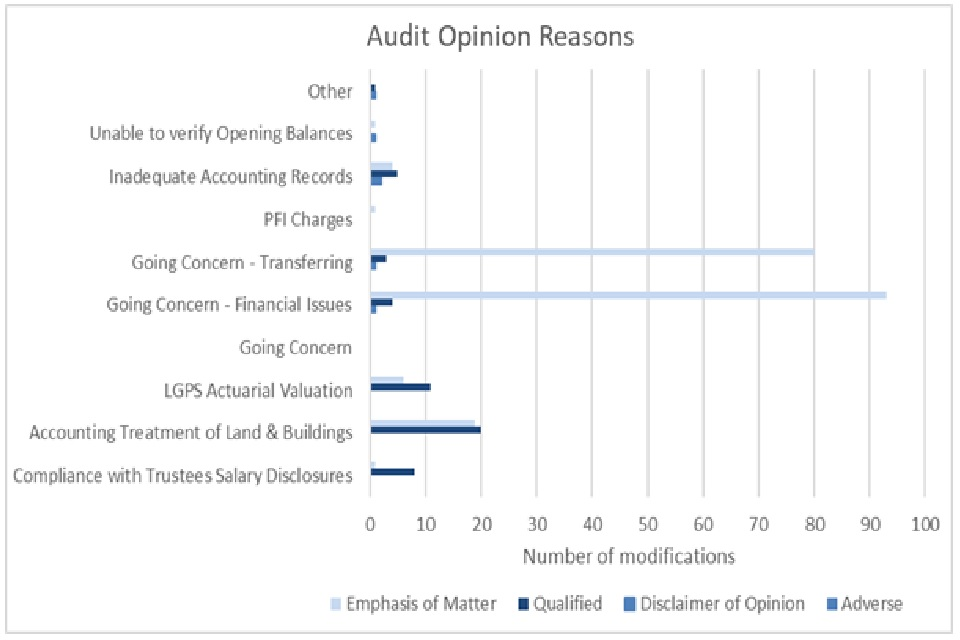 Image: audit opinion reasons