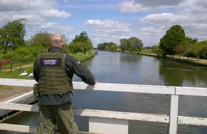 Fisheries enforcement officer