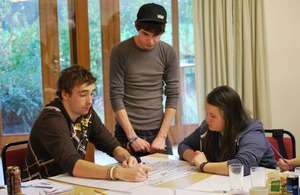 Young Advisors at a project in Sefton
